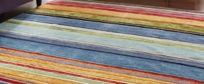 Обзор разноцветных ковров